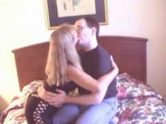 i got lucky and fucked with blonde pornstar